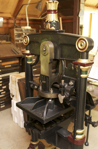 Max Millers antique press