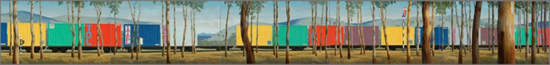 Container Train in the Landscape 1983-84