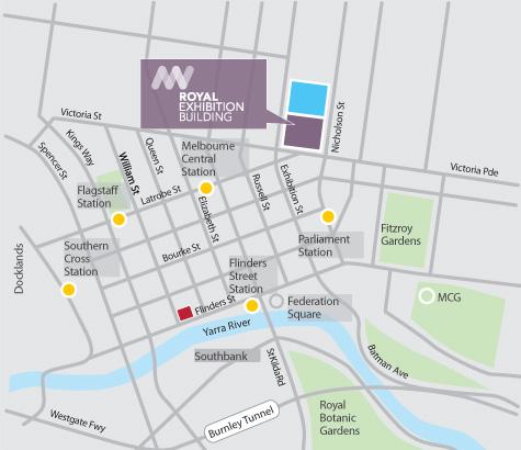 Art Show map