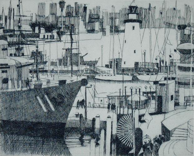 Gun Boat and Sail