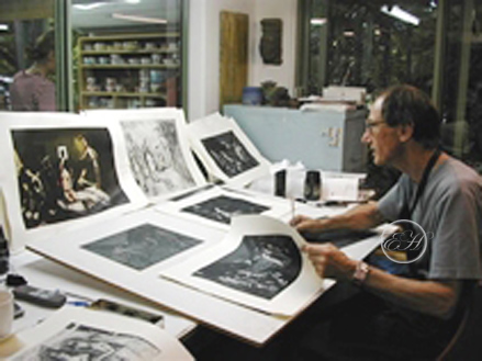 Garry Shead Etching Prints