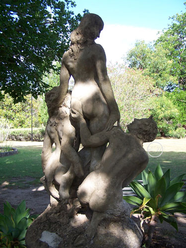 Woman and Satyrs